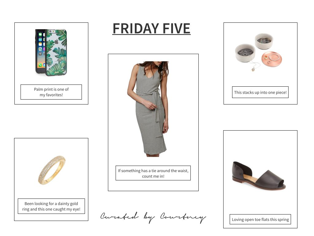 Friday Five + Easter Weekend Sales