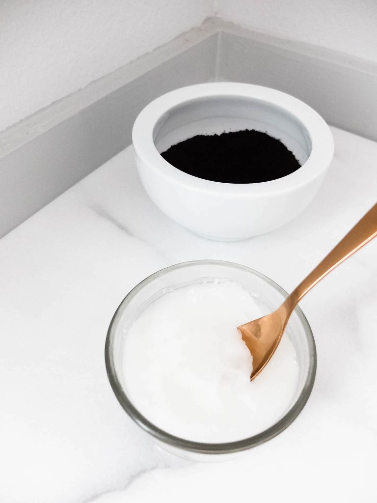 Coffee Bean Coconut Oil Skin Scrub