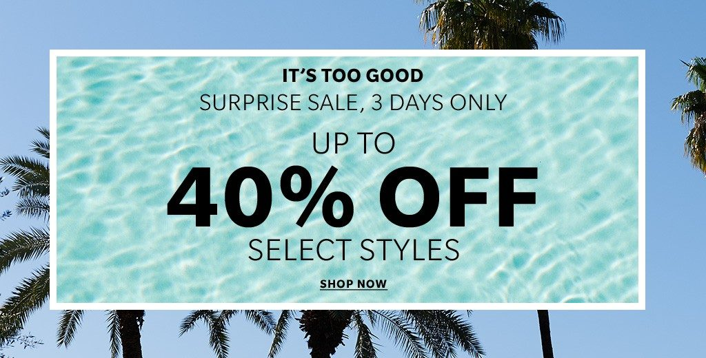 Shopbop 3 Day Spring Sale!