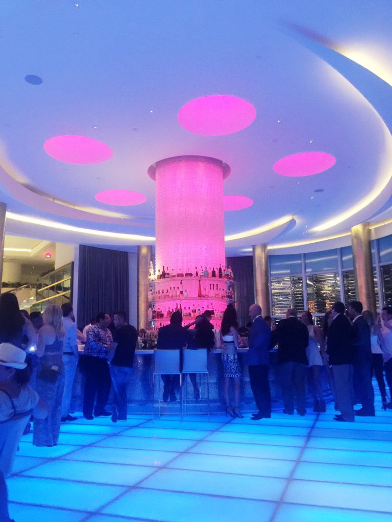 Bar at the FontaineBleau and Liv South Beach Miami Hotel