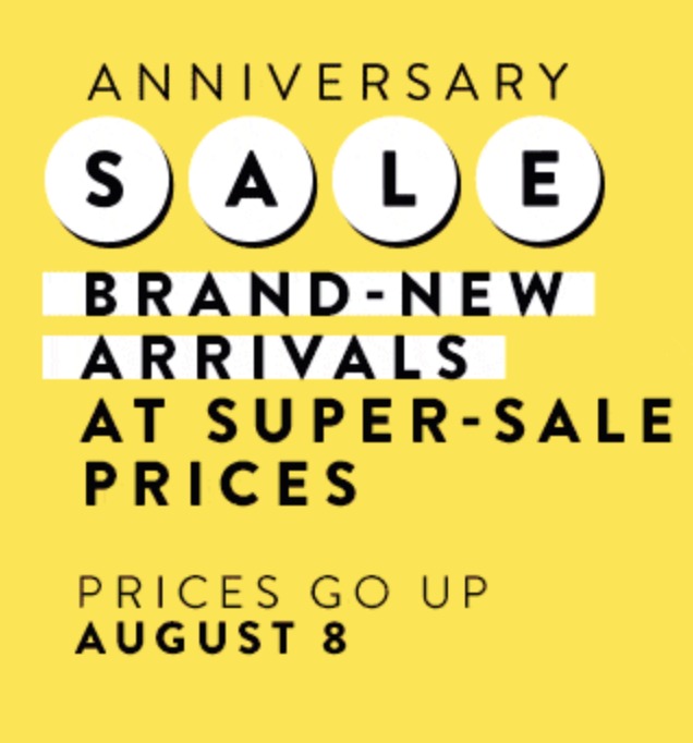 It's Here! | Nordstrom Anniversary Sale Public Access