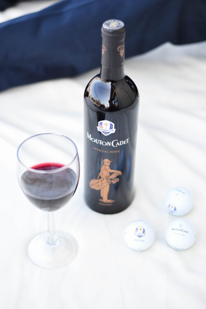 Mouton Cadet Wine and Golf Balls Ryder Cup 2016