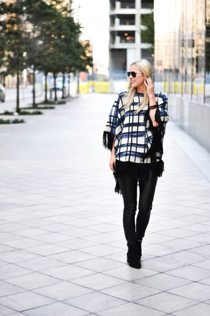 The Best Poncho for The Season with Bluefly