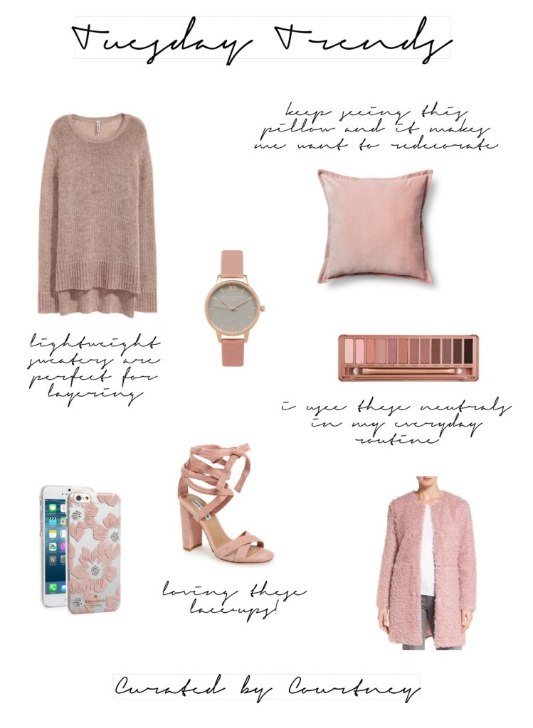 Trend Tuesday | Dusty Pink Hues