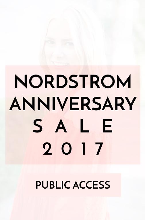 Nordstrom Anniversary Sale Public Access 2017