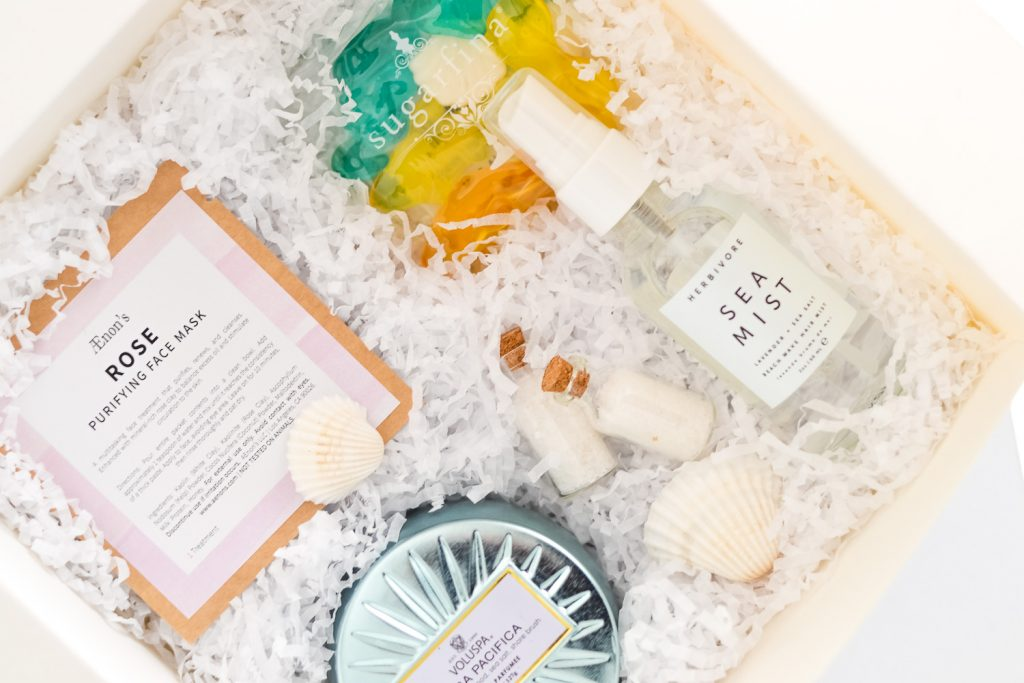 Beach Themed Bridesmaid Boxes