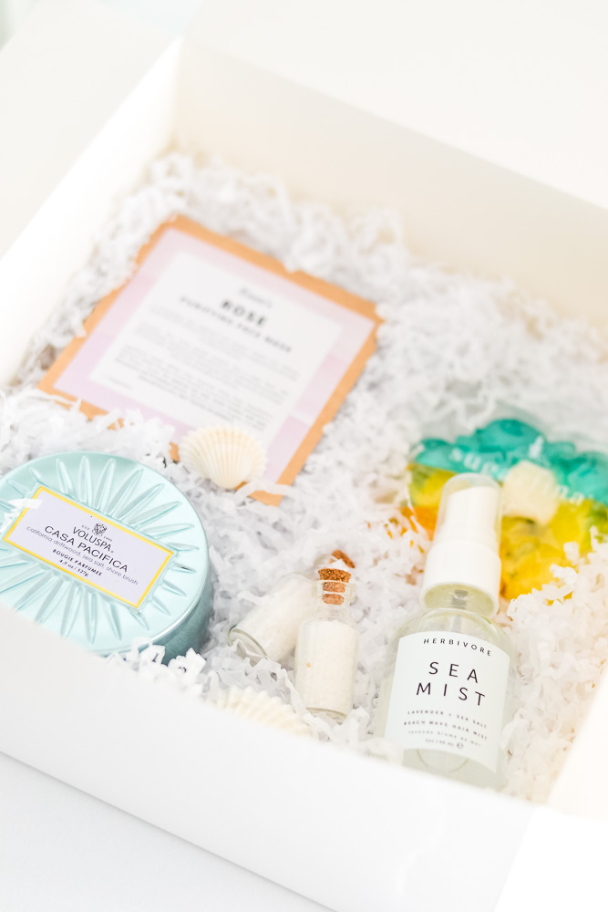 California Inspired Bridesmaid Boxes